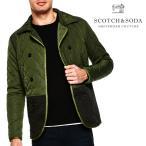 SCOTCH&SODA スコッチアンドソーダ Double Breasted Quilted Jacket キルティングジャケット メンズ