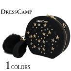ショッピングポシェット DRESS CAMP ドレスキャンプ バッグ BAG レディース マルチ スター スタッズ 2WAY ショルダーバッグ ポシェット