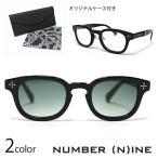 NUMBER (N)INE ナンバーナイン サングラス メンズ Type2 アイウェア メガネ レディース ユニセックス