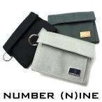 NUMBER (N)INE ナンバーナイン 財布 キャンバスハーフウォレット ウォレット