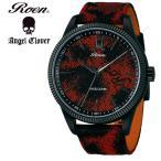 エンジェルクローバー Angel Clover Roen × Angel Clover ロエン コラボモデル RO46BK-RE メンズ 腕時計
