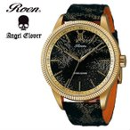 エンジェルクローバー Angel Clover Roen × Angel Clover ロエン コラボモデル RO46YG-BR メンズ 腕時計