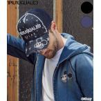 1PIU1UGUALE3 RELAX ウノ ピュ ウノ ウグァーレ トレ リラックス MICKEY デザイン スターデニムキャップ ミッキー ディズニー 帽子 CAP メンズ レディース