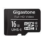 Gigastone『microSDカード Class 10 UHS-I フルHD 16GB』