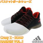 ショッピングadidas adidas Harden Vol.1 アディダス ジェームスハーデン バスケットシューズ Crazy X ROAD BW0546