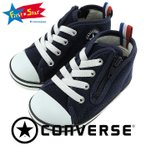 CONVERSE ポロシャツ ネイビー コンバース ベビースニーカー ファーストシューズ 赤ちゃん靴 7CK165 32711495 紺色 人気 おすすめ 即納 通販 販売