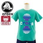 クロックス 半袖こどもTシャツ 116384 EGN 通販 販売 即納 カットソー 子供服 くろっくす サンダルブランド KIDS TEE 正規取扱品