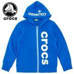 クロックス 145180 キッズ (140〜160cm)  crocs 子供服 ジップアップ ジュニアサイズ ジップパーカー