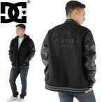 ショッピングDC 「SALE」スタジャン 刺繍 レターマン フード付き DC SHOES 黒 メンズ ブラック トップス 5410J707