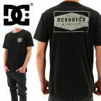 DC SHOES(ディーシー) バックプリント MOTION TEE 「5126J706 WBK」ブラック 半袖 半そで ティーシャツ 黒x白 ネコポス