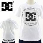 セール DC SHOES(ディーシー) キッズ Tシャツ ひび割れ柄  「7126J702 BKW」白 半袖 ボーイズ ティーシャツ
