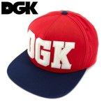 DGK DROP OUT CAP ディージーケー 帽子 DH-782 キャップ スナップバックキャップ スケートボード
