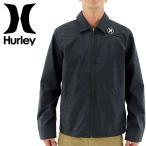 「セール」ハーレー コーチジャケット メンズジャケット HURLEY 黒ブラック