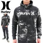 ショッピングhurley Hurley MTHZSCOGH6 00AG (ハーレー) 総柄 ジップフードパーカー メンズ フードパーカー スウェットパーカー