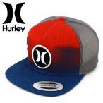 「セール」 HURLEY(ハーレー) スナップバック 「BLOCK PARTY HYPER FLOW/6CD」フラットバイザー メッシュキャップ