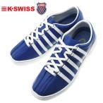 ケースイス クラシック66 メンズスニーカー K・SWISS CLASSIC66 ブルー/ホワイト レザーシューズ