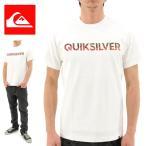 QUIKSILVER(クイックシルバー) ロゴTシャツ 白 半袖ティーシャツ (QST161021 WHT)