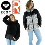 ショッピングロキシー ロキシー もこもこジャケット 黒色 リバーシブルジャケット ブラック レディース ROXY BREAK RJK164003