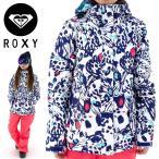 スノーボードウェア ROXY スノボジャケット スノージャケット ロキシー スノーウェア 総柄 ERJTJ03074