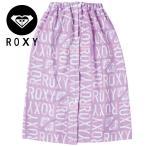 ROXY ロキシー TOA202436 ビーチタオル UV 巻きタオル 紫外線対策 レディース ラップタオル 大人サイズ