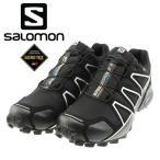 SALOMON サロモン GORE-TEX シューズ SPEED CROSS 4 GTX L38318100 ゴアテックス  トレイルランニング 軽登山 山登り 防水シューズ 通販 販売 即納 キャンプ
