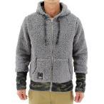 ショッピングフリース 「送料無料」SIERRA DESIGNS シエラデザインズ ボア フリース フード ジャケット 10994355 GRAY