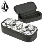 ショッピングvolcom VOLCOM マルチケース ブラック 小物入れ 筆箱 ブラック 黒 ポーチ 小物 アクセサリー D67117JG ケース