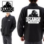 X-LARGE OGゴリラ コーチジャケット エクストララージ 01163519 ブラック 黒