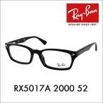 レイバン Ray-Ban RayBan RX5017A 2000 52 メガネフレーム KJ 降谷建志 ブラック黒縁