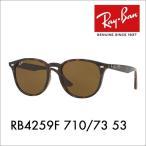 レイバン サングラス  Ray-Ban RayBan RB4259F 710/73 53 伊達メガネ 眼鏡 ウェリントン フルフィット