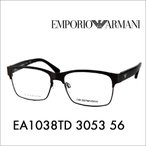 EMPORIO ARMANI エンポリオアルマーニ EA1038TD 3053 56 伊達 メガネ 眼鏡 サングラス