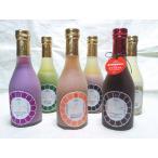 (浦野醤油醸造元) ■ 自宅用 ■ にじいろ甘酒 冬の6色セット / 米こうじ・博多あまおう・発芽玄米・くろ米・抹茶・紫いも
