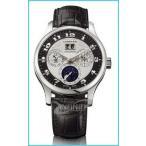ファッション用品 腕時計 ショパール メンズ Chopard L.U.C Lunar One Silver and Black Dial Automatic Mens Watch 161894-9001 平行輸入品
