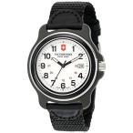 ファッション用品 腕時計 ビクトリノックス メンズ Victorinox Men's 249086 Original XL Analog Display Swiss Quartz Black Watch 平行輸入品