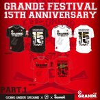 GOING UNDER GROUND × 力 × GRANDE Triple Collaboration T-Shirt
