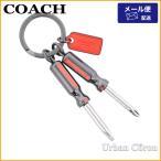 コーチ キーホルダー COACH F64142 ドライバー モチーフ キーリング BLK
