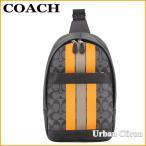 F72353 COACH コーチ チャールズ ヴァーシティ シグネチャー スリングパック ボディバッグ