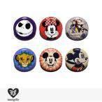 ラウンジフライ LOUNGEFLY × DISNEY PIN Series2 【C】 / 缶バッチ 缶バッジ ディズニー コラボ ジャック サリー ミニー ライオンキング ミッキーマウス
