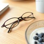 老眼鏡 おしゃれ 女性 ブルーライトカット 男性 軽量 アイウェアエア オーバル ブルーベリー 老眼鏡に見えない