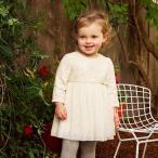 子供服 女の子 長袖 ワンピース プリーツスカート ドレス 刺繍 レース ステッチ 70cm 80cm 90cm 100cm 110cm 120cm