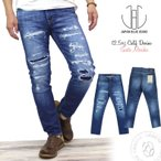Japan Blue Jeans ジャパンブルージーンズ テーパード アンクル丈カットパンツ ダメージデニムパンツ SANTA MONICA サンタモニカ おしゃれ