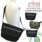 マンハッタンポーテージ Manhattan Portage メッセンジャーバッグ MP Logo & Mesh Packet Vintage Messenger (1606-jr-...