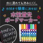 蛍光ボードマーカー(中字)8色/ 黒板 ブラックボード 看板 店舗 文具 インテリア スタンド マーカー