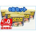 SPAM スパム 減塩 340g×6缶 レギュラースパムランチョンミートよりナトリウム20%カット 全国送料無料商品 レターパックプラス発送