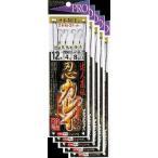 ささめ針 達人直伝 忍カレイ 12号 鈎・改良カレイイレグ 5枚まとめ買い特価 K-226