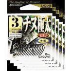 ささめ針  チヌ極太   黒  10号 5枚まとめ買い特価 TB-05 (SASAME・ 黒鯛)ササメ