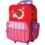 ステファンジョセフ 女の子用てんとう虫GO-GOキャリーケース 直立型 6歳以上対象 トローリー キャリーバッグ スーツケース てんとうむし 通学バッグ