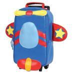 ステファンジョセフ Stephen Joseph 超軽量 男の子用ブルーエアプレインローリングバックパック キャリーケース 直立型 3歳以上対象 スーツケース