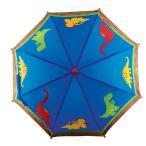 ステファンジョセフ 男の子用ブルー恐竜さん雨の日もへっちゃらカラフルアンブレラ ダイナソー傘 雨具 梅雨対策グッズ Stephen Joseph 青