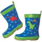 ステファンジョセフ 元気な恐竜ワールドレインブーツ 長靴 雨具 Stephen Joseph